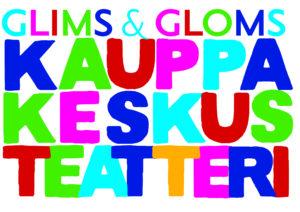 Glims & Gloms Kauppakeskusteatterin logo